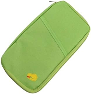 Multi functional Travel Wallet Passport Ticket Holder with Zipper