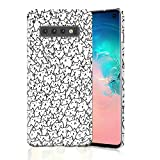 Kitty Case for Galaxy S10, Raised Edges Scratch Resistant Lightweight Flexible Slim Fit Soft TPU Protective Phone Cover for Samsung Galaxy S10 Kitties and Cats