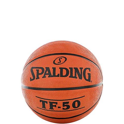 Spalding TF50 Outdoor 65-819Z - Pelota de baloncesto, color naranja, talla 3