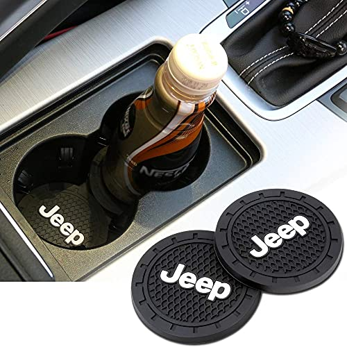 Auto sport 2.75 Inch Diameter Oval Tough Vehicle Travel Auto Cup Holder Insert Coaster Can 2 Pcs...