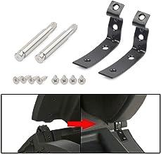 BEESCLOVER para Audi a4 s4 rs4 b6 b7 8e guantera Tapa bisagra empotrada Kit de reparación Fijo Grapas – para Accesorios de Coche