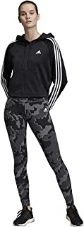 adidas Women's Tracksuit Sports Hoodie & Tights Set Jogging Track Suit