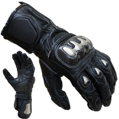 PROANTI Motorradhandschuhe Racing Pro Motorrad Handschuhe (L)
