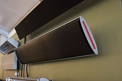 Fonteyn Heatstrip 3200 Watt - Dark Light - Infraroodstraler - Warmtestraler