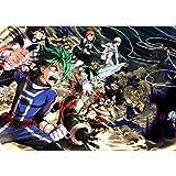LDTSWES Anime Hero Academia Puzzle, Rompecabezas de Madera, para Rompecabezas de descompresión de Adultos Juguetes educativos de Dibujos Animados 1000 Piezas