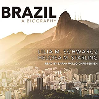 Brazil: A Biography audiobook cover art