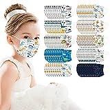 100 Stück Kinder Einweg 3-lagig Mode Maske Kindermaske Multifunktionstuch Bandana Halstuch Weiche Atmungsaktive