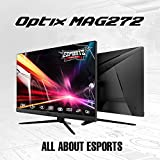 "MSI Optix MAG272 Monitor Gaming 27"", 1920x1080 (FHD), 165Hz, 1ms, VA, FreeSync"