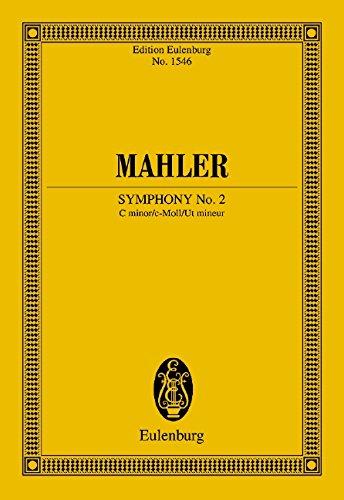 Sinfonie Nr. 2 c-Moll: Orchester. Studienpartitur. (Eulenburg Studienpartituren)