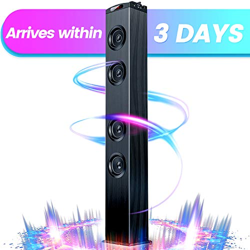 Floor Standing Bluetooth Tower Speaker, Floor Speakers for Home Stero System, Floor Standing Speakers Home Theater,...