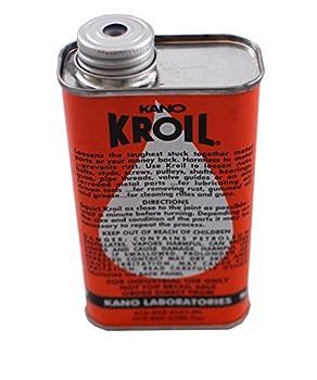 Kroil Original Penetrating Oil 8 oz Liquid  KanoLab Kroil