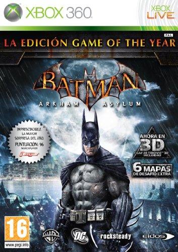 Batman: Arkham Asylum -Game Of The Year