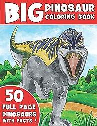 3. King Coloring The Big Dinosaur Coloring Book