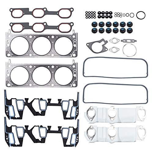 PUENGSI Head Gasket Set Kit Compatible with 2000-2003 Buick Century, 2002-2004...