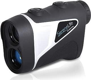 SereneLife Upgraded Advanced Golf Laser Rangefinder with Pinsensor Technology