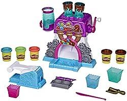 Play-Doh - La Fabbrica dei cioccolatini (Playset Kitchen Creations con 5 vasetti di Pasta da Modellare Play-Doh)