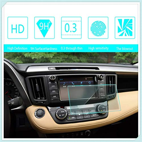 Maiqiken for Toyota RAV4 2015 2016 2018 7 Inch 152×91mm Navigation Screen Protector Touch Screen Display Film 9H Hardness Anti Glare Anti Scratch GPS Screen Protector Foils