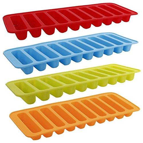 HCFKJ Silikon Zylinder EiswüRfel BehäLter Frost Form Pudding Gelee Schokoladen Form Hersteller