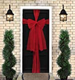 Davies Products Ltd Red Organza Christmas Front Door Bow Kit - 9M