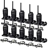 Retevis RT27V MURS Radios Walkie Talkies, Two Way Radios Long Range Rechargeable in Open Area, Short Range Indoor, License-Free, for Outdoor Business(10 Pack)