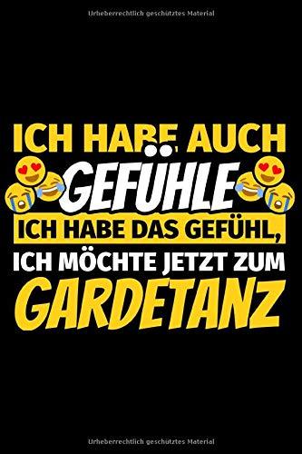 Notizbuch liniert: Gardetanz Geschenke Gardetänzer Karneval Fasching