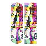 Hupery Sexy Woman Booty Skateboard Grip Tape Longboard Griptape Waterproof Grip Tape Sheet Sticker Deck Sandpaper Griptape 33.1x 9.1 inch