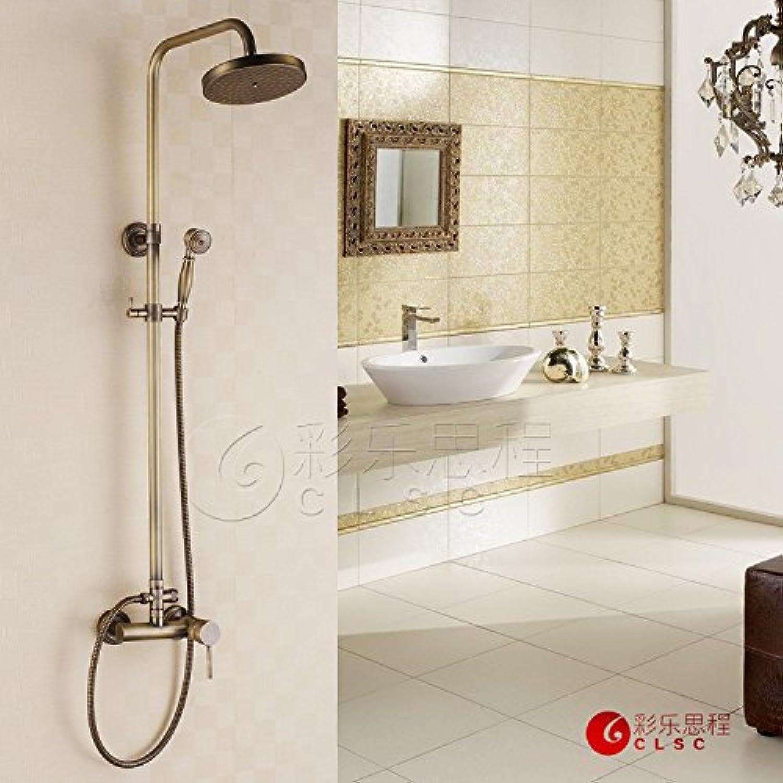 High grade shower set antique shower set hot and cold shower room shower simple shower taps