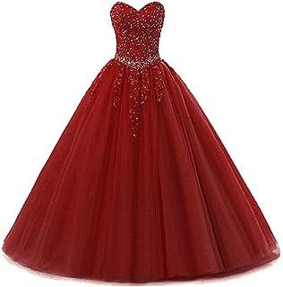 Damen Liebsten Lang Tüll Formellen Abendkleid Ballkleid Festkleider