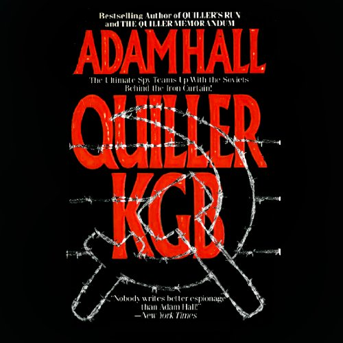 Quiller KGB audiobook cover art