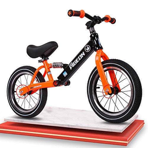 Bicicleta Sin Pedales Bici Niños Pequeños Bicicleta De Equilibrio Para Caminar Para Regalos De 3 4 5 6 7 8 10 Años, Entrenamiento Deportivo Bicicleta Sin Pedales Con Asiento Ajustable Y Absorción De I