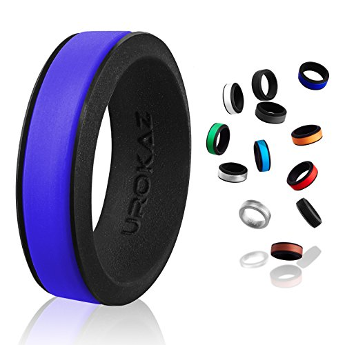 UROKAZ - Silicone Wedding Ring, The Only Ring That Fits Your Lifestyle - Whether You are Single or...
