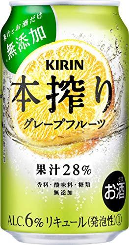 【香料・酸味料・糖類無添加】キリン本搾りチューハイ グレープフルーツ 350ml