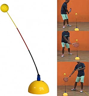 YDCT Portable Tennis Training Tool Professional Practice Trainer Stereotype Swing Ball Machine for Beginners Self-Study Accessories