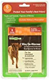SENTRY Worm X Plus 7 Way DeWormer Large Dogs (6 count) Package may...