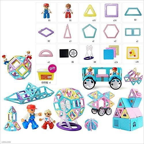 Tagke Magnetteil Bl e 1-2-3-6-10 Jahre alte Jungen und mädchen Puzzle Magneten montiert Baby Kinderspielzeug Kinder p gogisches Spielzeug Geburtstagsgeschenk Spielzeug magnetisches Spielzeug für K