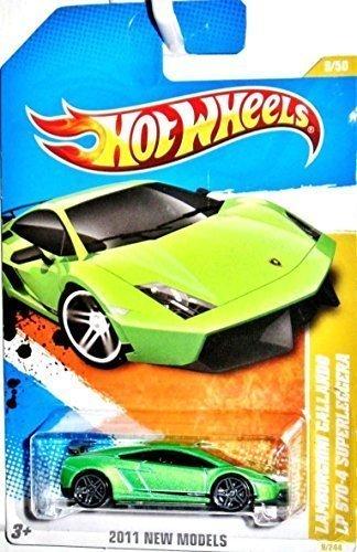 Hot Wheels 2011, Lamborghini Gallardo LP 570-4 Superleggera, 2011 New Models. 1:64 SCale. by Mattel