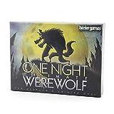 One Night Ultimate Werewolf, Fun Party Game Board Tarjetas de Juego Adecuado para 3 a 10 Jugadores