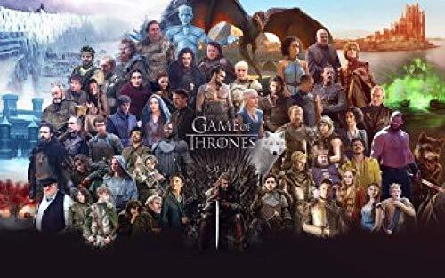 183Tdfc Game Thrones Puzzle 1000 Teile Erwachsene Puzzle Holzpuzzle 8 Jahre Und Älter Großes Interessantes Spielzeug Klassisches 3D Collectibles Karten