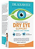 Dry Eye Support with Omega 3, Lipids Curcumin (60 Softgels)