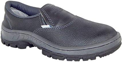 Sapato Botina Segurança com Cadarço EPI Bota Proteção Bico Aço