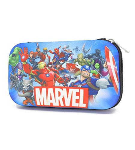 Trendy Apparel Shop Avengers Molded EVA School Supplies Storage Pencil Case - ROYAL