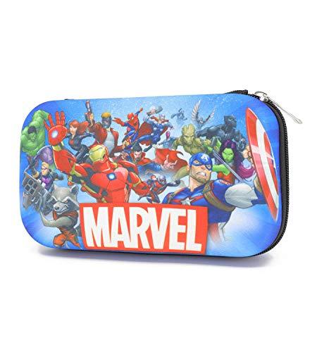 Trendy Apparel Shop Avengers Molded EVA School Supplies Storage Pencil Case - ROYAL