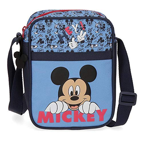 Disney Mickey Moods Bandoulière Rouge 15x19x10 cms Polyester