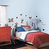 Pared Adhesivo Decorativo Pared Tattoo–Disney–Mickey Mouse–Goofy–künstlerisch Amplios con diseño Convierte a la Pared un Verdadero Llamativa