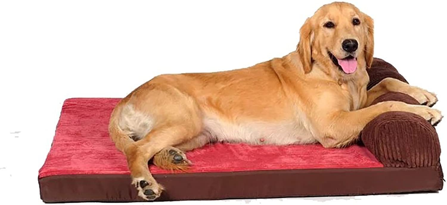 Kennel Dog Mat Four Seasons Pet Nest Supplies, Can Be Cleaned To Predect The Spine, Size color Optional