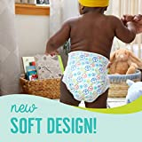 Seventh Generation Baby Diapers, Size 4, 135 count for Sensitive Skin (Packaging May Vary)