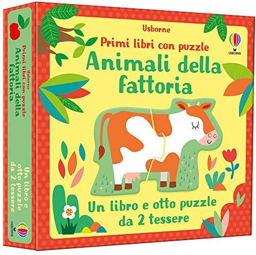 Animali della fattoria. Primi libri con puzzle. Ediz. a colori. Con puzzle