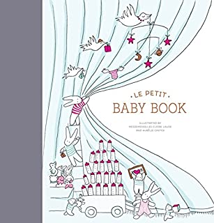 Le Petit Baby Book (Baby Memory Book, Baby Journal, Baby Milestone Book)