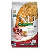 Farmina N&D Ancestral Grain Light Med/Maxi pollo y granada Alimento seco para perros, 5.5 libras