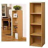 Estantería de madera Top Home Solutions de 4 estantes